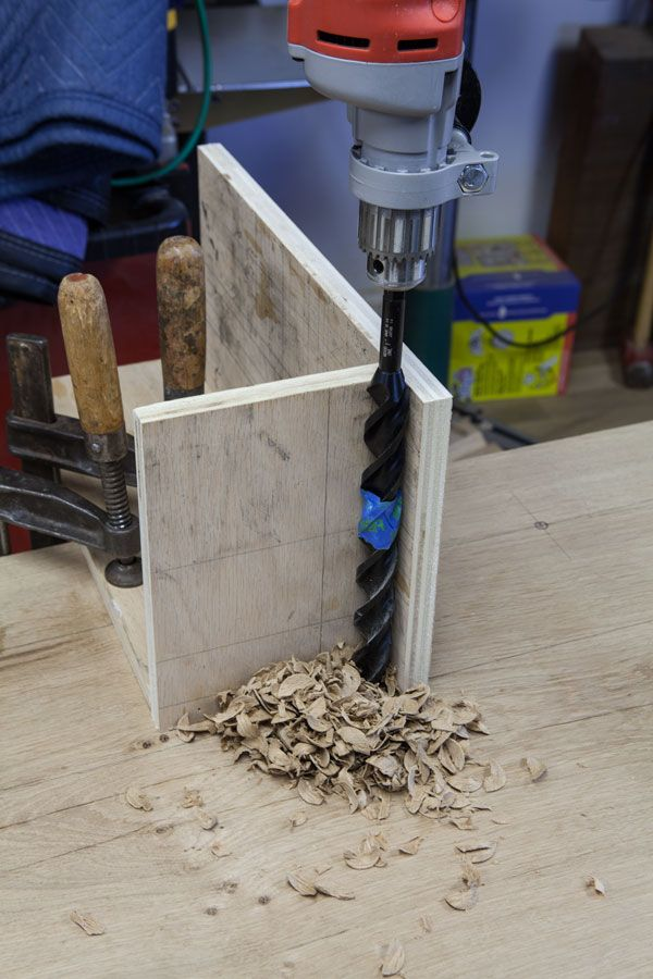 You don't need a lot of holdfast holes to hold most work on your bench. In fact, I've found that somewhere between eight and 10 holes is more than enough for most work. And if I used a tail vise, I probably could get away with just two or three holdfast holes. The topic of where to put holdfast holes stresses out a lot of bench builders, especially if they've …