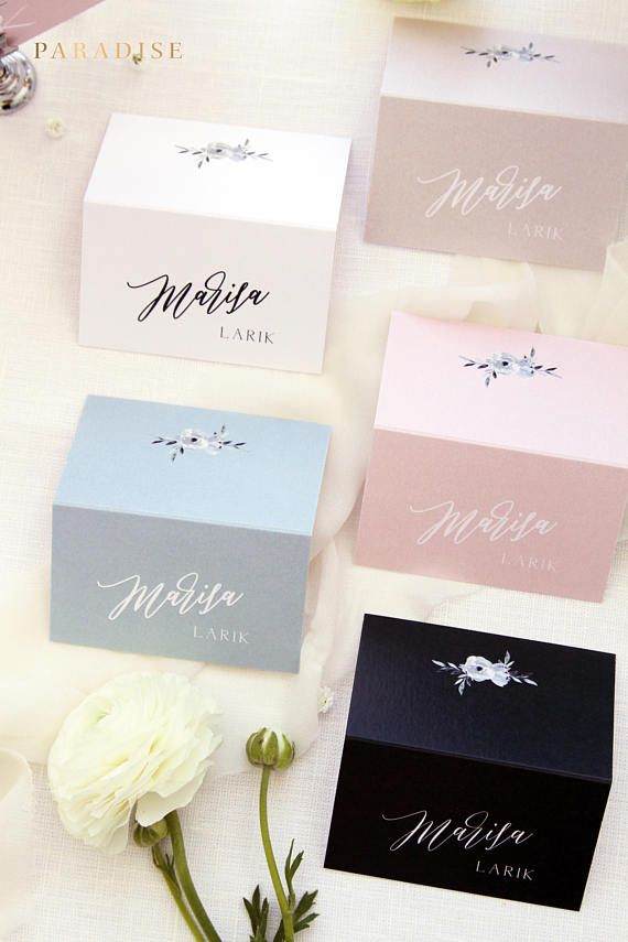 Skyla Place Cards, Printable Place Cards or Printed Place Cards Calligraphy Place card Tented Cards Name Tags Modern Calligraphy Stationery