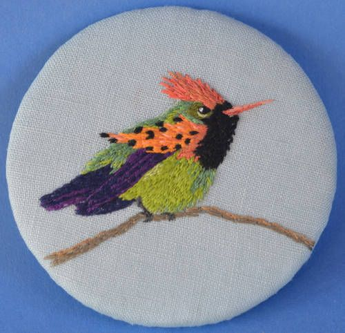 Tufted Coquette  by HL Tyler/Ludi