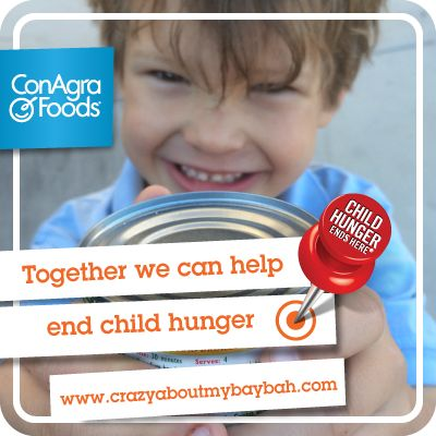 One child, one family can help make a difference. Let's work together to help end child hunger! #FightHungerTogether #AD