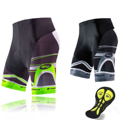 Cycling Shorts Men 3D Padded Bicycle Bottom Tights Race Half Sleeve Cycle Pants