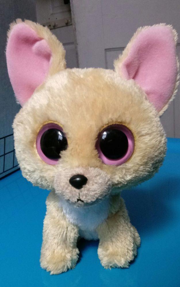 11071e04d03  12.50 -  50 TY Beanie Boos Nacho Chihuahua Dog Medium Plush 6