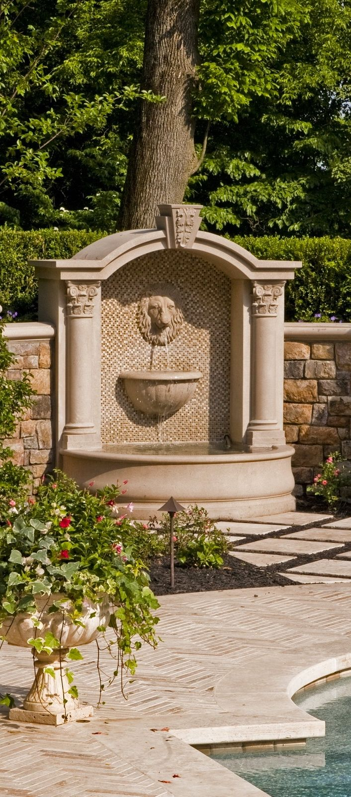 179 best Fountains images on Pinterest   Water fountains, Fonts and ...