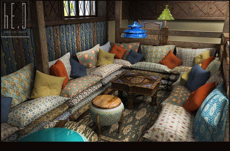 дизайн интерьера,дизайн ресторана,кафе,чайхана,восточный стиль