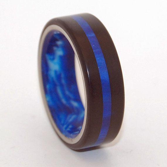Black rings, titanium rings, resin rings, mens rings, Titanium Wedding Bands, Eco-Friendly Rings, Wedding Rings – CENTER of MY GALAXY