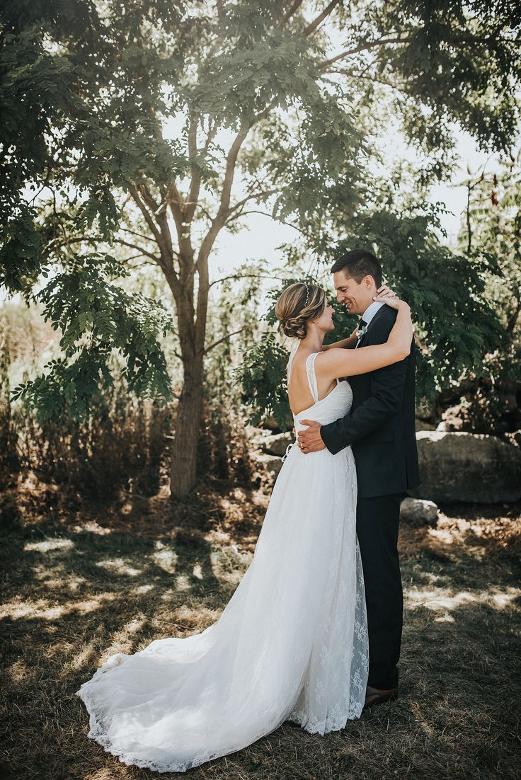 """Amy Kuschel's """"Meadow,"""" from Something White, A Bridal Boutique, Independence, Ohio / photo by Nick + Danee / Real Wedding: Maggie & Eric's Cleveland-Inspired Wedding"""