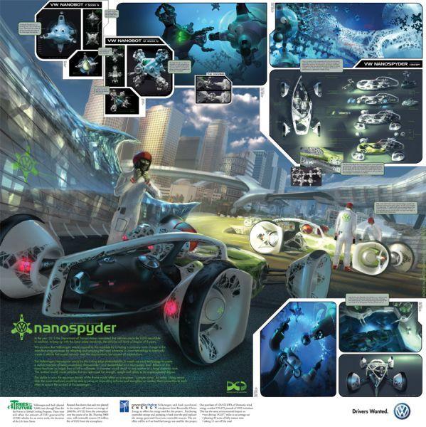 VW Nanospyder by Patrick Faulwetter