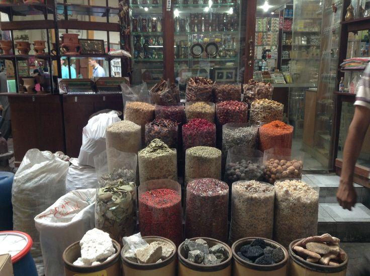 Spices in a Dubai Souk