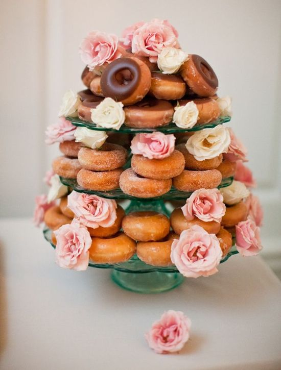 Beautiful and easy donut display