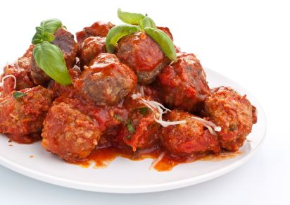 Gluten Free Meatballs | Classic dad-approved dish!