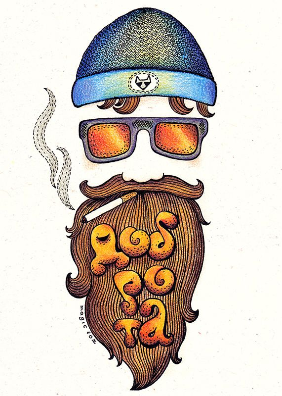 Бородатый мужчина