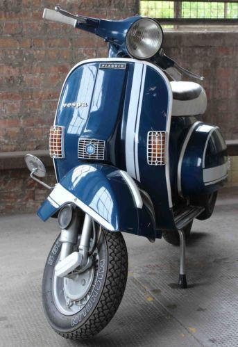 Vespa Piaggio P125X - Excellent VINTAGE Original 1979 Scooter | eBay