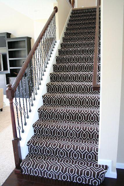 Staircase: Chocolate Tessio Carpet
