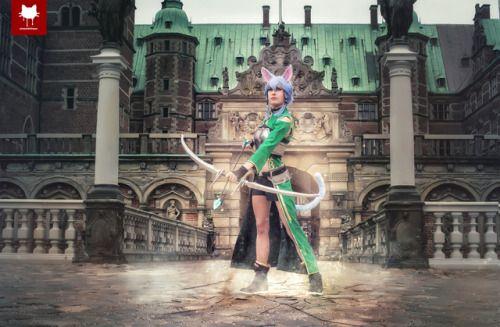 Shoot with Rinaca Cosplay and Surine Cosplay at Frederiksborg Castle near Copenhagen, Denmark.