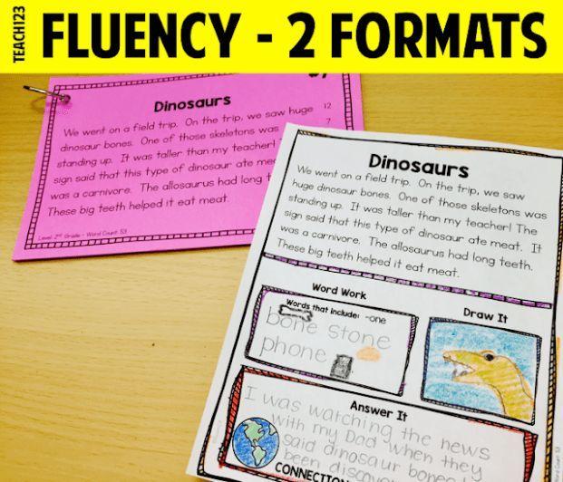 Fluency That Is Not Teacher Directed Reading Fluency Teacher