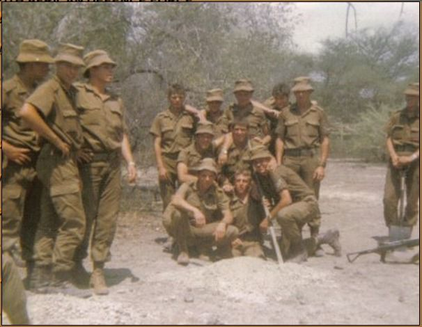 South Africa's Vietnam - these boys were conscripted for a war they did not understand, a generation of heroes! Ref:Platoon 2 Alpha Coy somewhere in Angola