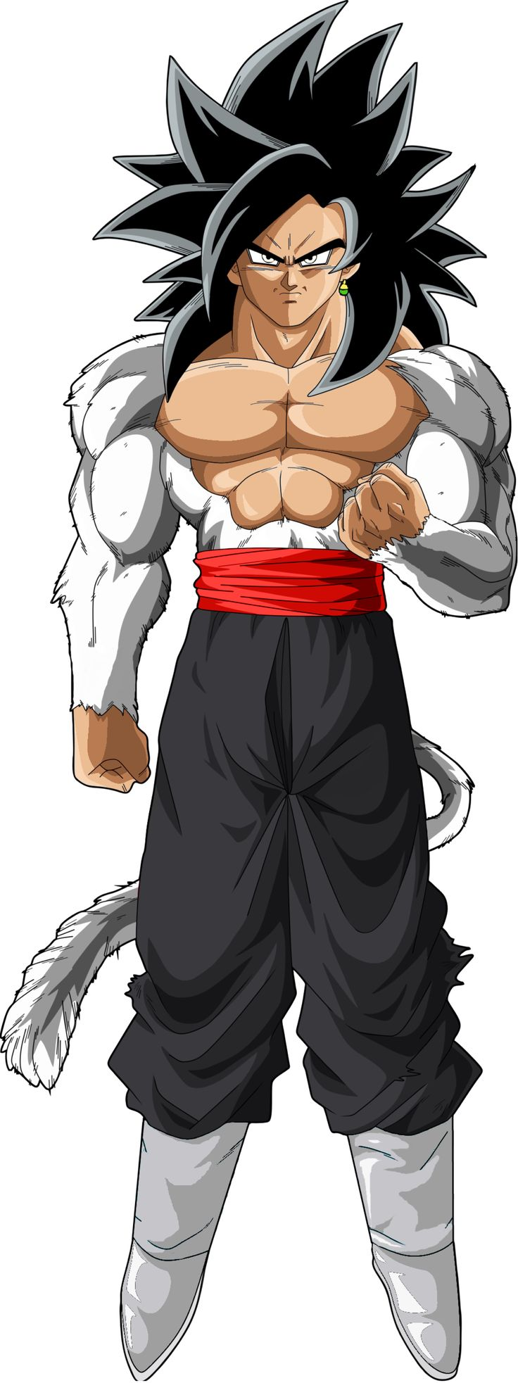 Black Goku SSJ 4 PNG by DavidBksAndrade on @DeviantArt