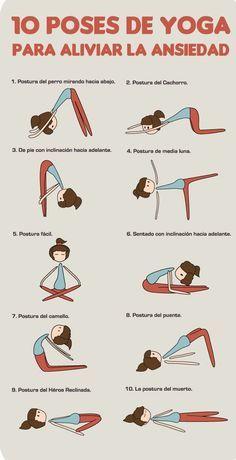 Relaja la mente y el cuerpo con esta rutina de ejercicios. #Yoga #Diabetes #Ejercicios