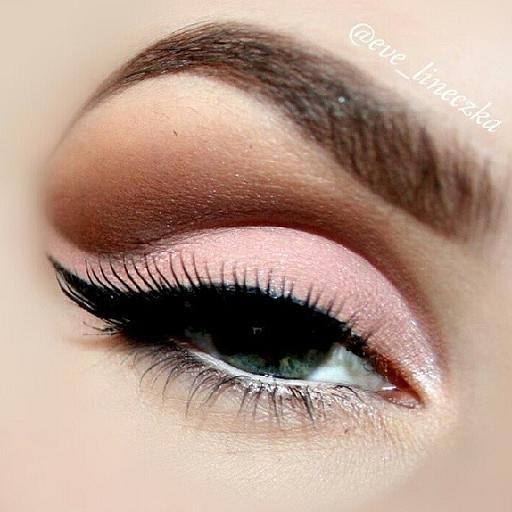 Nice pastel eyeshadow from @AnastasiaBeverlyHills LAVISH palette: Ballet, Orange soda, Truffle and Cream from @maybellibe gel liner lashes