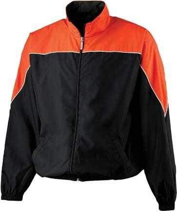 Youth Micro Poly Color Block Jacket from Augusta Sportswear