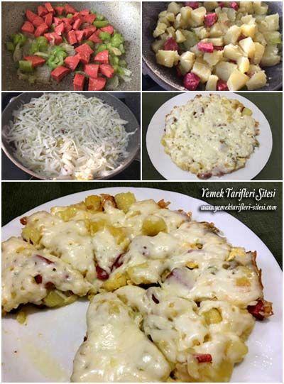 Kahvaltılık Patates Kavurma Tarifi