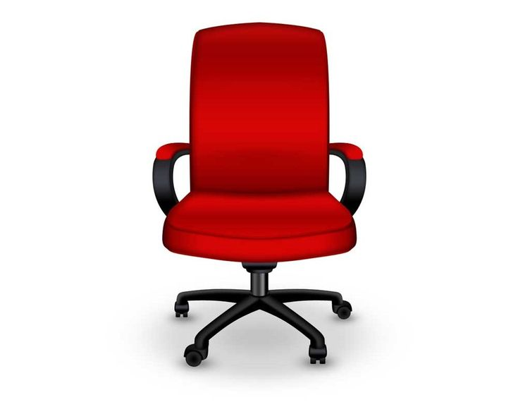 Red Office Chairs In Medium Size