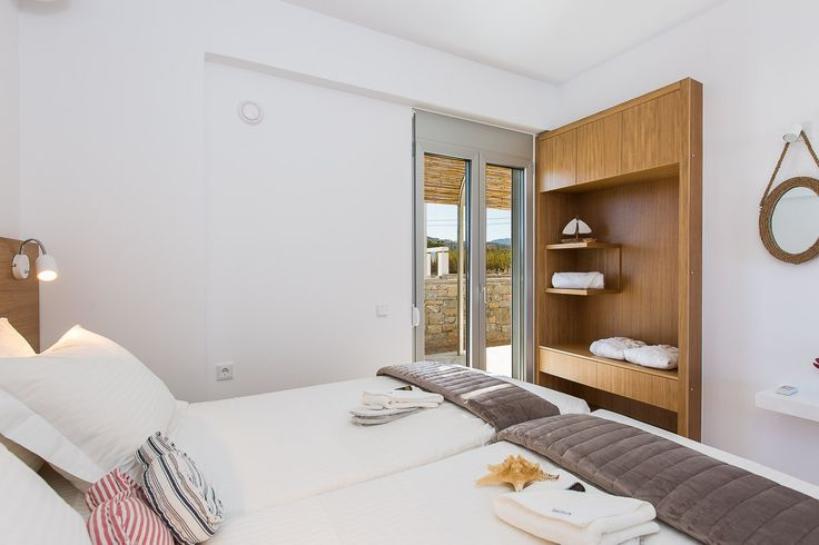 www.thalasses.com                                Thalasses Villas , Villa Persi in Pigianos Kampos, Rethymno, Crete, Greece #vacation_rental #thalasses_villas #4_luxurious_villas #villa_Persi #luxurious_accommodation #summer_holidays #privacy #summer_in_crete #Visit_Greece #indoors #bedroom