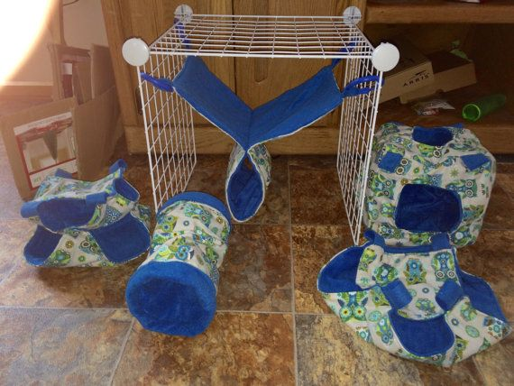Ferret rat hammock set of 5