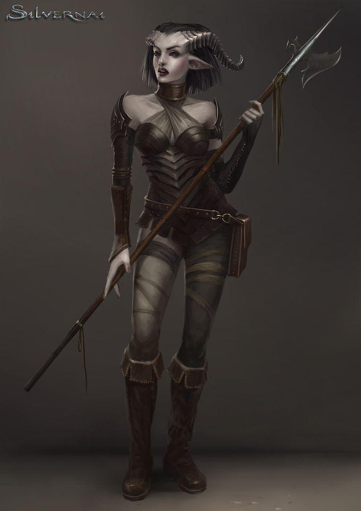 Silvernai: Satri by Sandra Duchiewicz #Demoness #DemonGirl