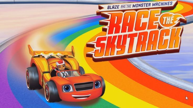 Nick Jr Blaze And The Monster Machines - Race The Skytrack | Best Kids G...