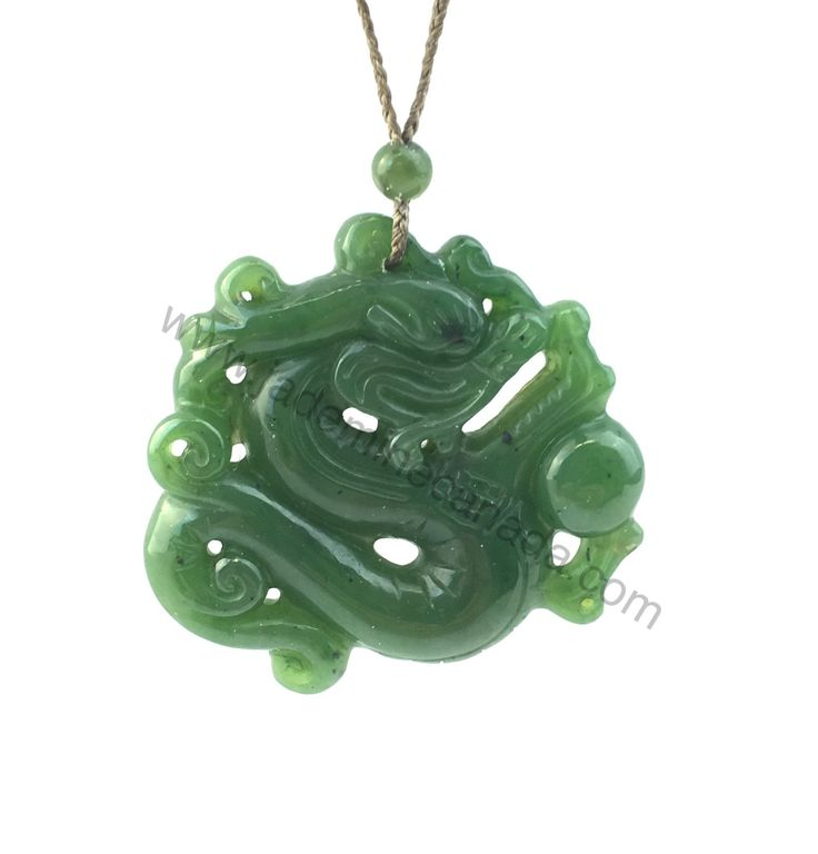Canadian Nephrite Jade Dragon Pendant - Fathers day sale - Summer Sale - 10% off - Promo Code: Summer2017 by JadeMineCanada on Etsy https://www.etsy.com/listing/243381418/canadian-nephrite-jade-dragon-pendant