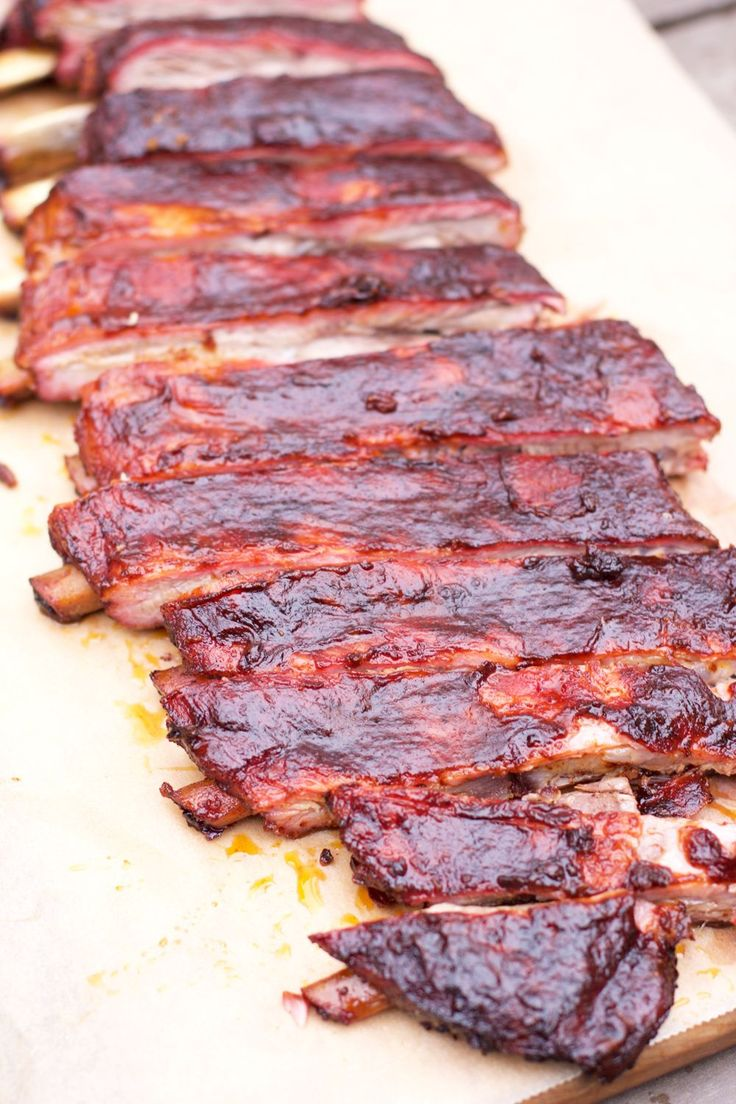 """What we have learned about competition style ribs, along with a recipe and an explanation of the """"3-2-1 Method"""" of smoking ribs."""
