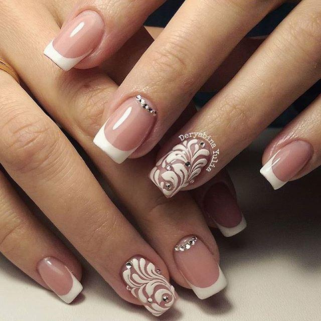 Карточка «шеллак френч фото дизайн на ногтях » из коллекции «красивий маникюр френч на короткие ногти» в яндекс. Коллекциях.