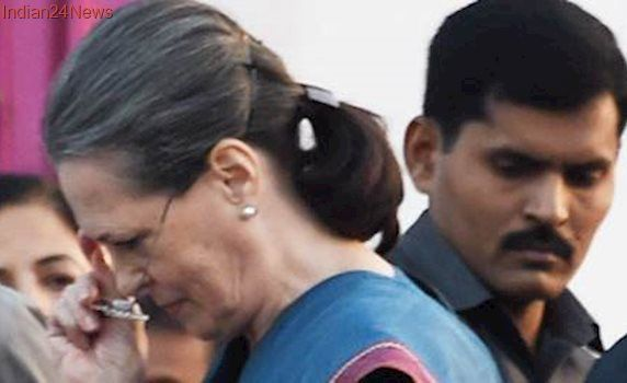Sonia Gandhi flies abroad for treatment ahead of Counting Day