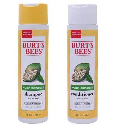 Burt's Bees Shampoo and Conditioner with Baobab 10floz Each by Burt's Bees. $19.95