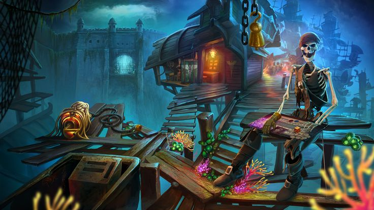 Nightmares from the Deep:Davy Jones #nightmares #artifexmundi #adventure #game