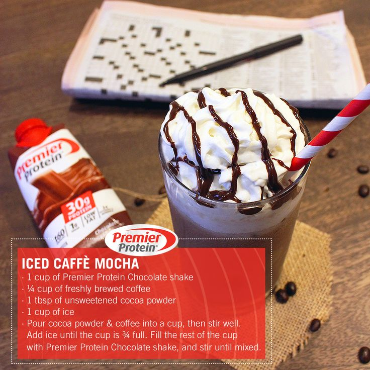 Our Iced Caffè Mocha recipe is easy like Sunday morning.