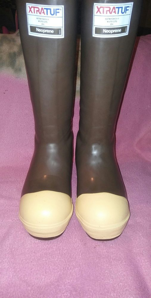 """Xtra tuff 15"""" insulated boots size 3 #xtratuff #WorkSafety"""