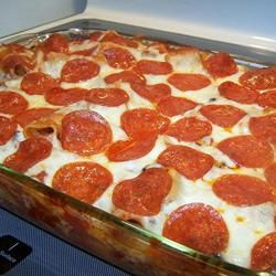 Manicotti Italian Casserole | Recipe