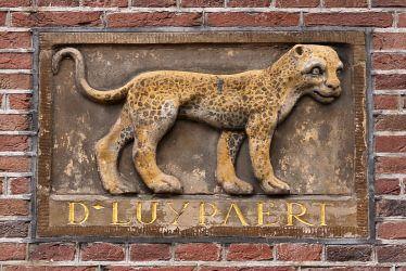 """WWW.HERMANSOUER.NL .. Gevelsteen """"D-LUYPAERT"""" Keizersgracht 418- 424, Amsterdam"""