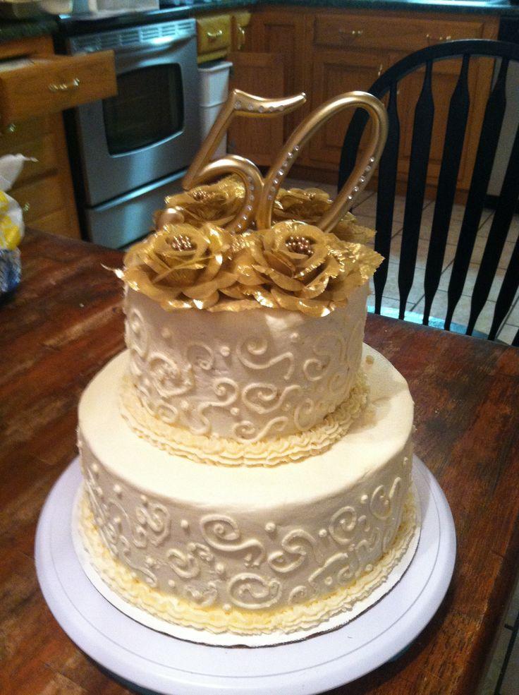 50th wedding anniversary cake Party Ideas Pinterest