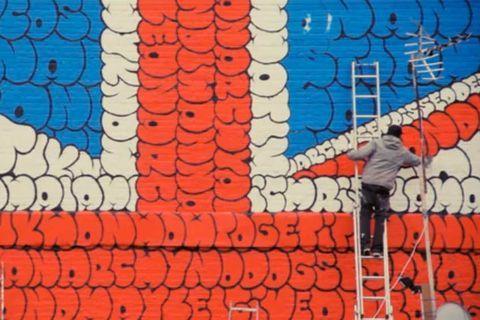 Vent d'anarchie sur les murs londoniens
