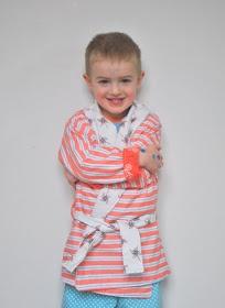 Boy, Oh Boy, Oh Boy!: Just Like Dad Robe