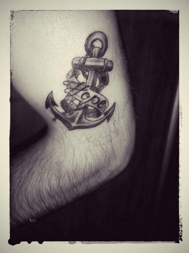 """Anchor symbolizing hope.. """"8"""""""
