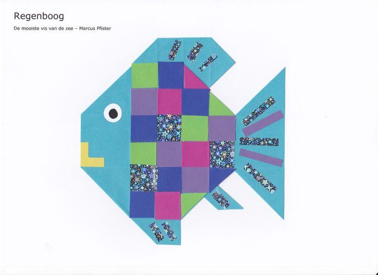 """""""Regenboog"""", de mooiste vis van de zee - 16 vierkantjes https://www.youtube.com/watch?v=7Exa5kkLAns"""
