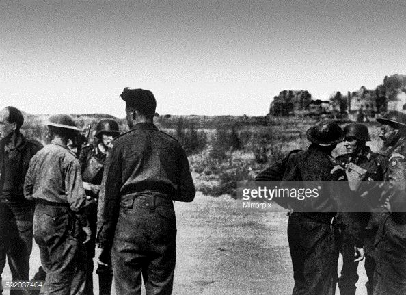 Photo d'actualité : Prisoners of War captured by the Germans in the...