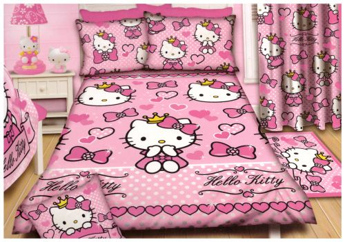SINGLE Hello Kitty duvet set @ R320  For more info & orders, email SweetArtBfn@gmail.com or call 0712127786 (SA Shipping available @ R45)
