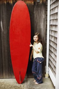 How to Make Surfboard Decor From Cardboard thumbnail