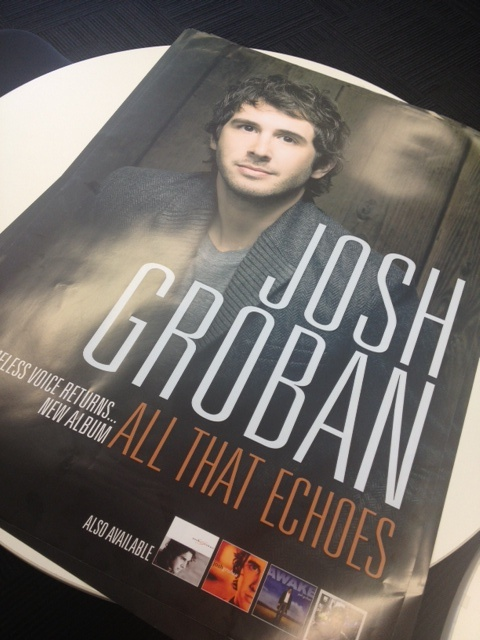Josh Groban fans - REPIN TO WIN. Follow us on Pinterest (http://pinterest.com/warnermusicau/) and repin this picture for a chance to win this exclusive poster - simple as that! Winner announced Friday 15th Feb 2013!