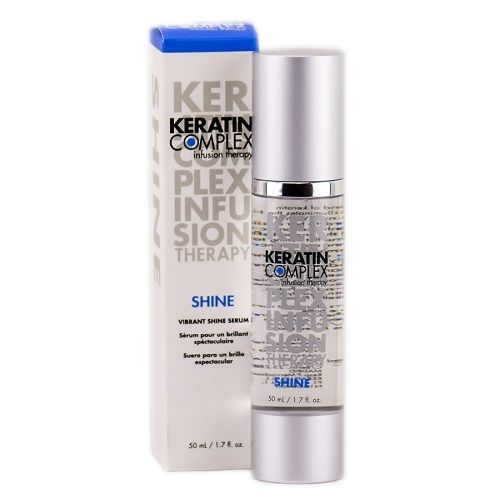 Keratin Complex Infusion Therapy Shine Blizgesio suteikiantis serumas 50 ml